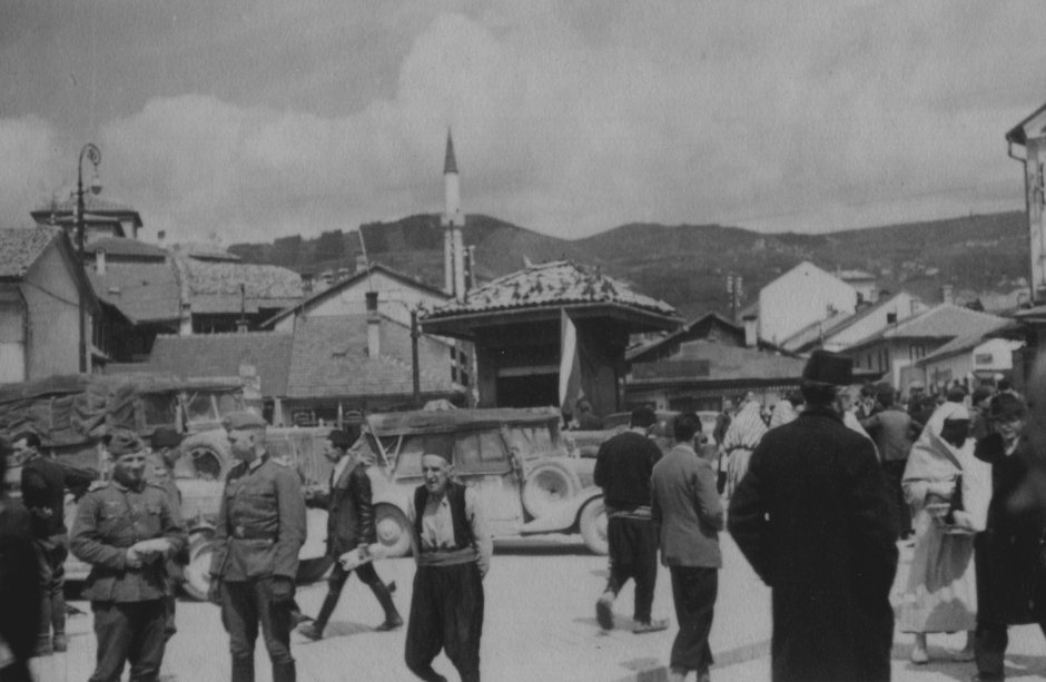 Sarajevo, Bašćaršija, 1941. godine