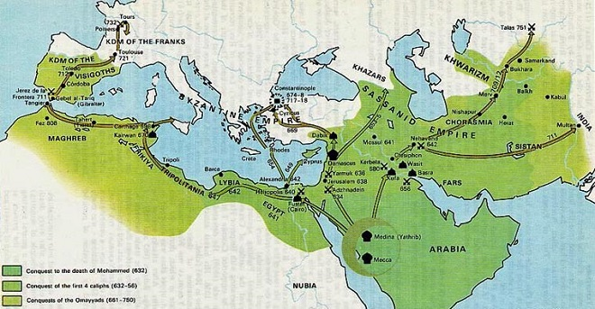 Hilafet u 8. stoljeću