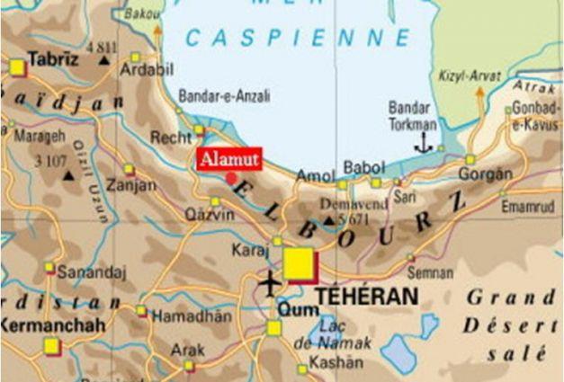 Alamut mapa