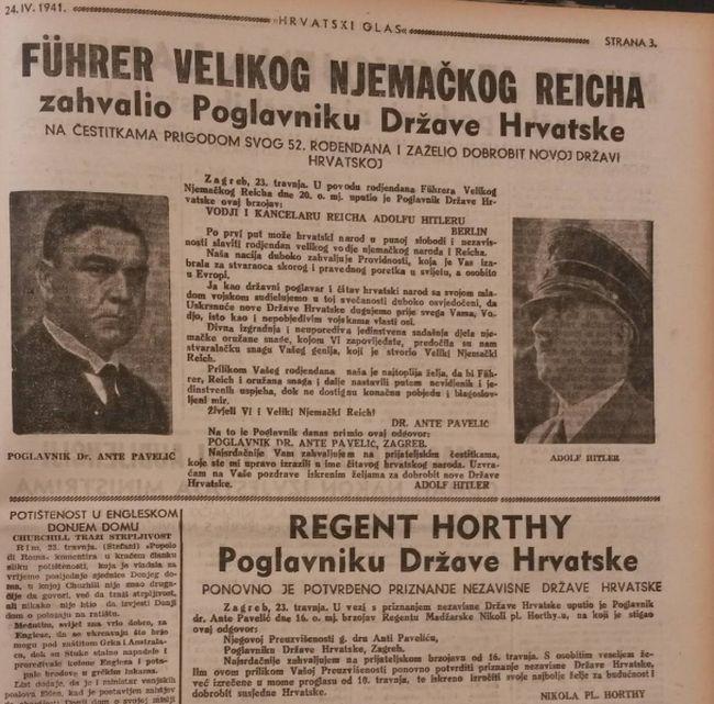 Hrvatski glas 1