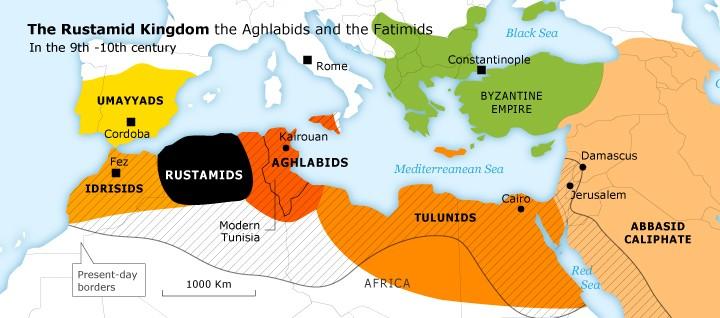 Ibadije - Rustemidsko carstvo