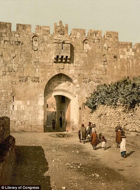 Lavlja vrata, jedan od ulaza u Jerusalem.