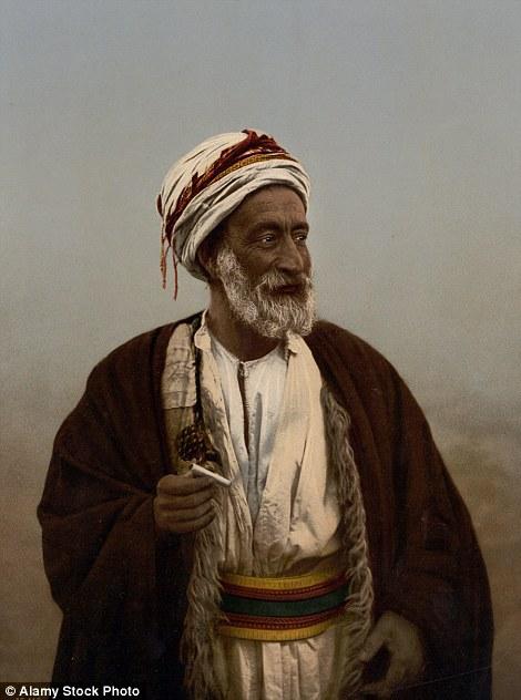 Starac iz arapskog plemena ca. 1895.