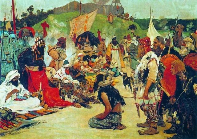Trgovina robovima bila je unosan posao u tom vremenu, naročito među stanovnicima Bulgara.