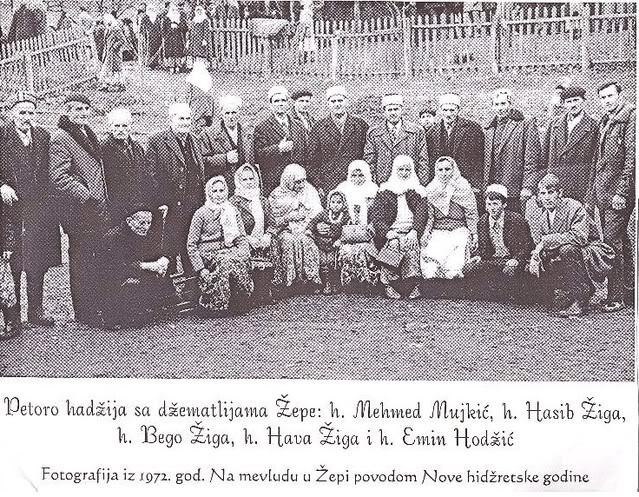 Mehmed Mujkić, 1972. godine sa svoje 43 godine bio je najmlađi hadžija iz Bosne i Hercegovine.