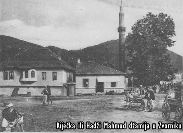Riječka ili Hadži Mahmud džamija, nanovo je izgrađena 1986., a zatim srušena od strane srpskih fašista