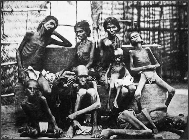 Tzv. Indijska glad koja je pogodila istočne dijelove zemlje 1943. godine.