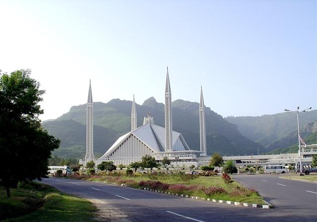 Faisal džamija u Islamabadu izgrađena 1986. godine, čija izgradnja je koštala tadašnjih 120 miliona dolara.