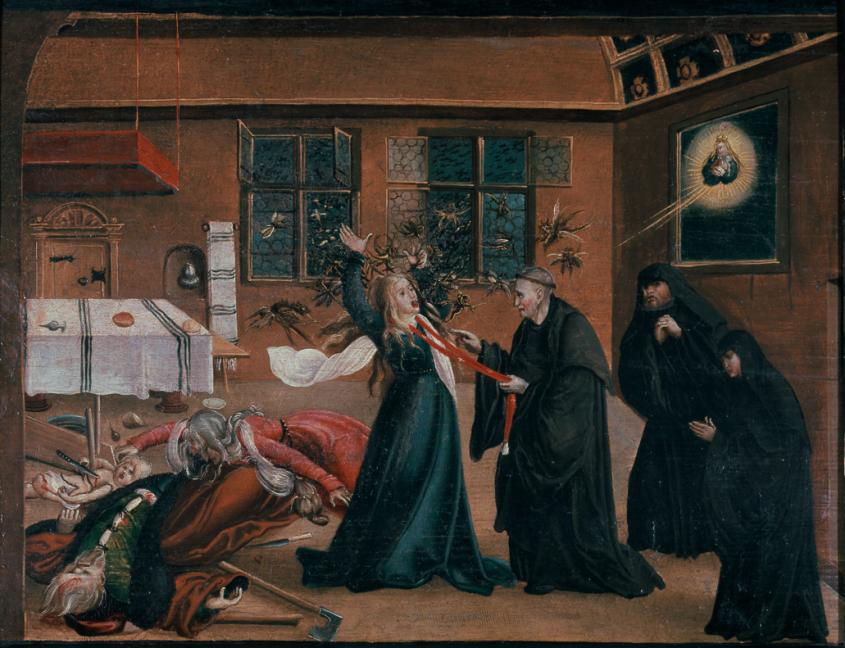 Žena u srednjem vijeku.