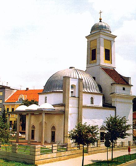 Đakovo, negdašnja Ibrahim-pašina džamija, 16. st. (danas katolička crkva Svih svetih)