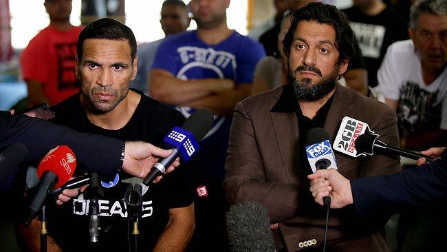 Anthony Mundine i Khodam Nasser, čovjek koji je zaslužan za njegov prelazak na islam i kasnije za njegovu veoma uspješnu boksersku karijeru.