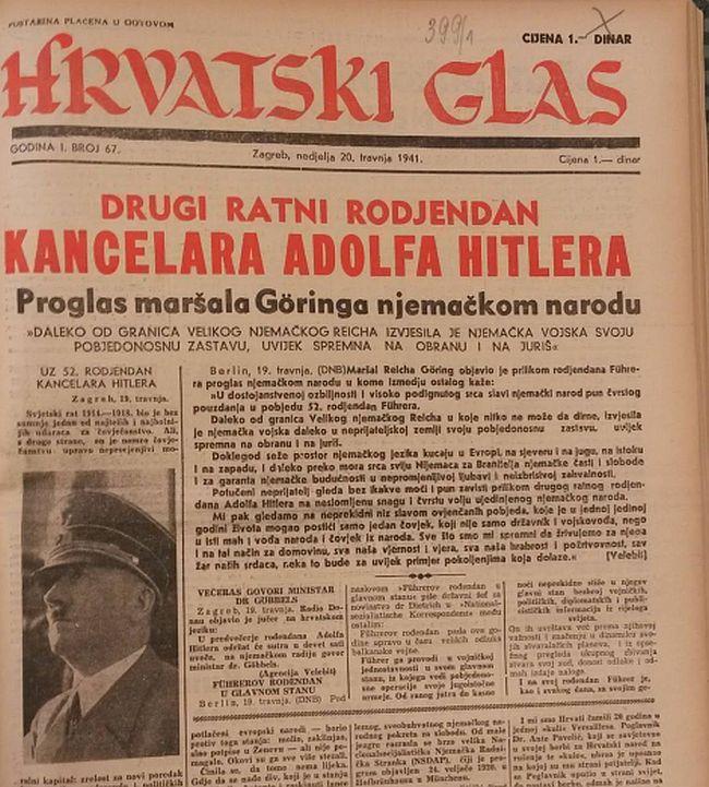 Hrvatski je glas radio ne samo na kultu ličnosti Pavelića, nego i njegovih saveznika