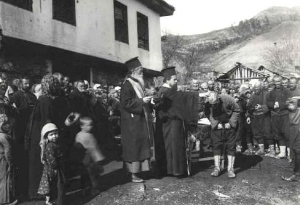 Prisilno pokrštavanje muslimana u Plavu (Crna Gora) ca. 1911-1912. godina.