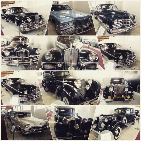 Kolekcija 20-ak Titovih automobila izloženih u muzeju u Sloveniji.