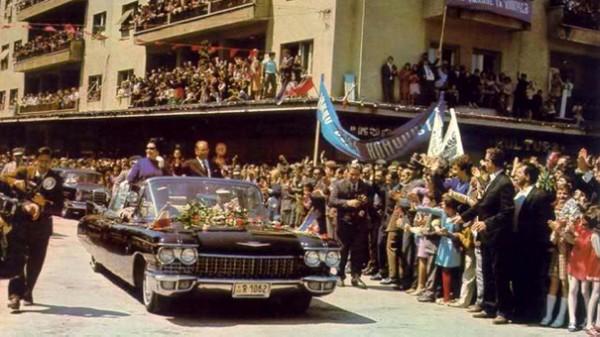 Jedan od 12 Titovih Cadillaca. Tito je imao ukupno oko 85 automobila.