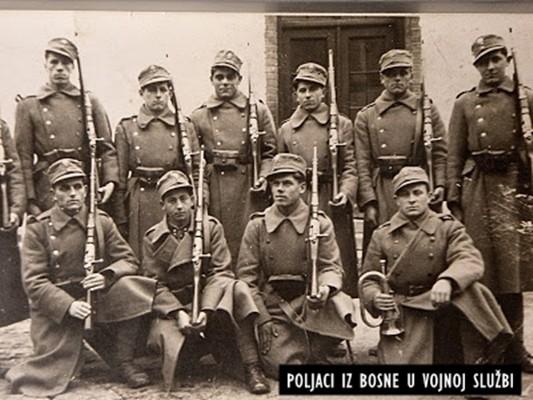 Poljaci su u Drugom svjetskom ratu bili žrtve progona četnika i ustaša, pa su se u toku rata priključivali partizanskoj gerili